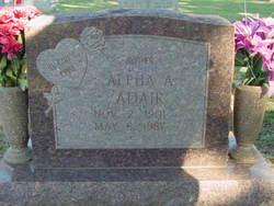 Alpha Abia <i>Davis</i> Adair
