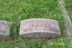 Ann <i>Holmes</i> Faulkner