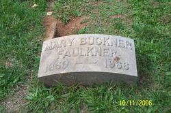 Mary <i>Buckner</i> Faulkner