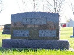 Bertha Marie <i>Riley</i> Criss
