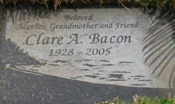 Clare Alice <i>Buell</i> Bacon