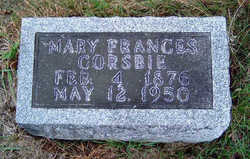 Mary Frances <i>Little</i> Corsbie