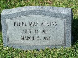 Ethel Mae <i>Gardner</i> Atkins