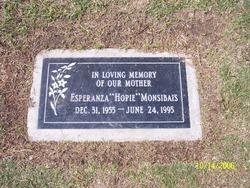 Esperanza Hope <i>Hernandez</i> Monsibais