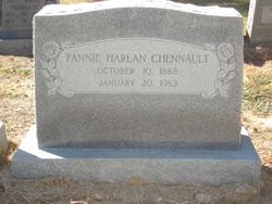 Fannie <i>Harlan</i> Chennault
