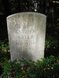 Sgt Andrew Balla