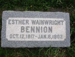 Esther <i>Wainwright</i> Bennion