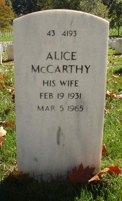 Alice <i>McCarthy</i> Donahue