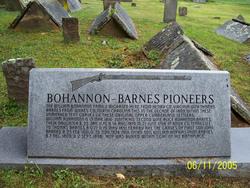 Bohannon Cemetery