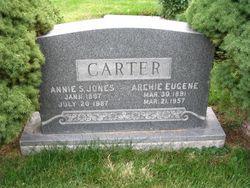 Annie S <i>Jones</i> Carter