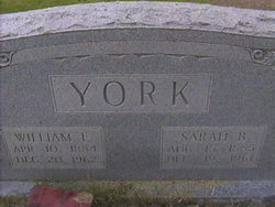Sarah Bette <i>Godfrey</i> York
