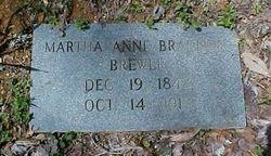 Martha Anne <i>Brandon</i> Brewer