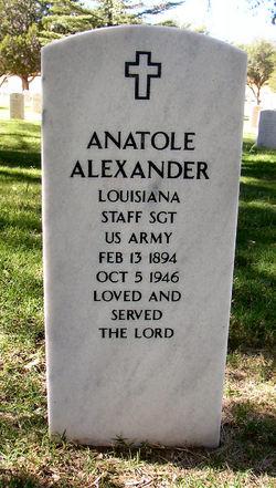 Sgt Anatole Alexander
