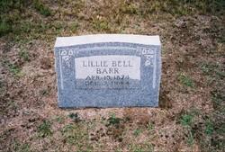 Lillie Bell <i>McCoy</i> Barr