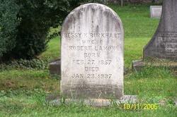 Bessy K <i>Burkhart</i> Lamon