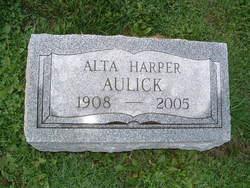 Alta Marie <i>Harper</i> Aulick
