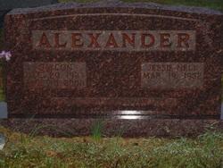 Jessie Nell <i>Hawes</i> Alexander