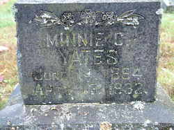 Minnie Caroline <i>Smith</i> Yates