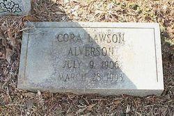Cora Lawson Alverson