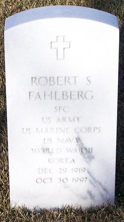 Robert Samuel Fahlberg