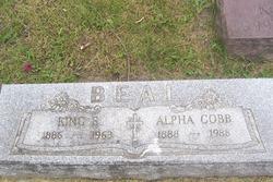 Alpha <i>Cobb</i> Beal