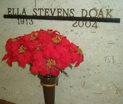 Ella May <i>Kelmer Stevens</i> Doak