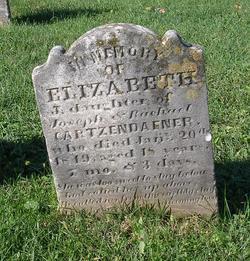 Elizabeth Cartzendafner
