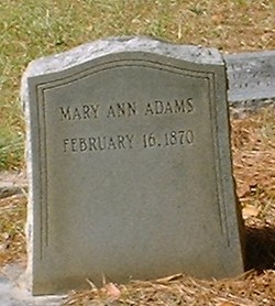 Mary Ann Adams
