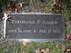 Theodore Floyd Adams
