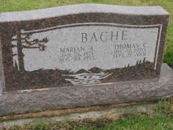 Marian A. <i>Morris</i> Bache