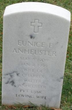 Eunice <i>Forchee</i> Anheuster