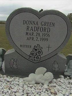 Donna Mae <i>Green</i> Radford