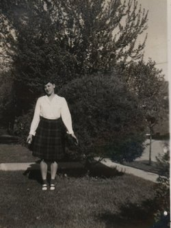 Helen Mary <i>Burg</i> MacDonald (formerly Schuster)