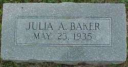 Julia Ann <i>Bowman</i> Baker