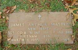 Sgt James Arthur Masten