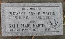 Elizabeth Ann <i>Porter</i> Martin