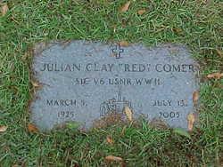 Julian Clay <i>''Red''</i> Comer