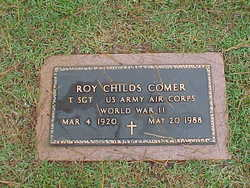 Roy Childs Comer