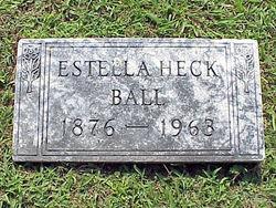 Estella F. <i>Heck</i> Ball