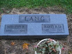 Dorothy Louise <i>Hoffman</i> Lang