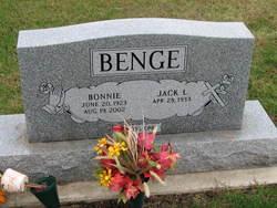 Bonnie <i>Bogan</i> Benge