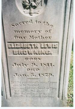 Elizabeth Lewis <i>Gilmer</i> Browning
