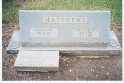 Anne Calcote <i>Berry</i> Matthews
