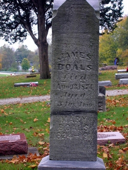 Mary Elizabeth <i>Amsbaugh</i> Boals