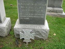Sgt Abraham Addams McAllister
