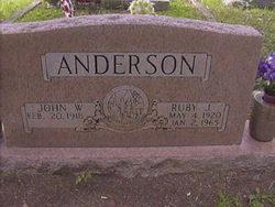 Ruby Jasper <i>Tuggle</i> Anderson