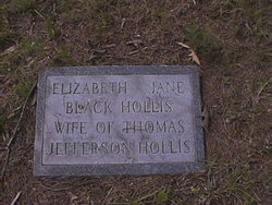Elizabeth Jane <i>Black</i> Hollis