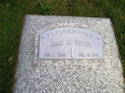 Mary A <i>Vlach</i> Potter, Jr