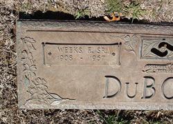 Weeks Frederick DuBose