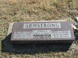 Effie A. <i>Myers</i> Armstrong